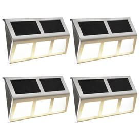 image-Hoye LED Solar Outdoor Wall Light Brayden Studio