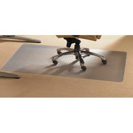 image-Advantagemat Medium Pile Carpet Straight Chair Mat Floortex Size: 120cm x 150cm