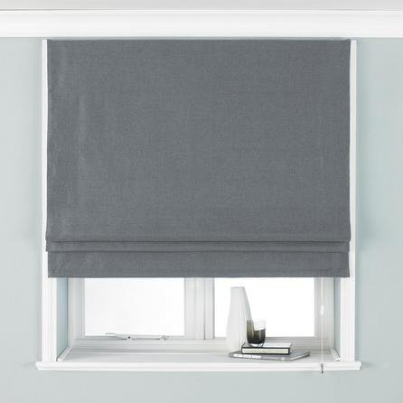 image-Atlantic Grey Roman Blind Grey