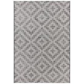 image-Creil Flatweave Grey/Black Indoor/Outdoor Rug Elle Decor Rug size: Rectangular 154 x 230cm