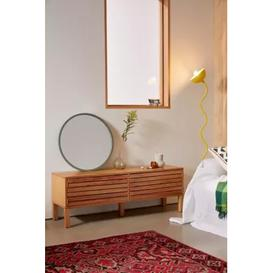 image-Lita Low Sideboard - Beige ALL at Urban Outfitters