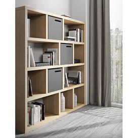 image-Alpharetta Bookcase Brayden Studio Colour: Oak