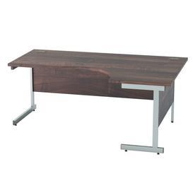 image-Derry Corner Desk Mercury Row Finish: Walnut, Size: 72.5 cm H x 180 cm W x 80 cm D