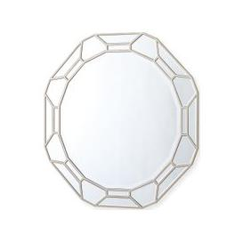 image-Vida Living Rosa Geometric Round Mirror