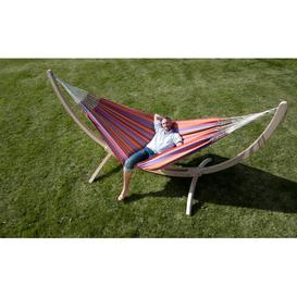 image-Carolina Hammock La Siesta Colour: Red