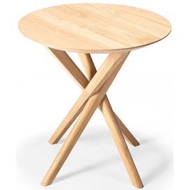 image-Ethnicraft Oak Mikado Side Table