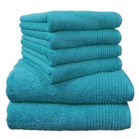 image-Brillant 6 Piece Towel Bale Dyckhoff Colour: Turquoise