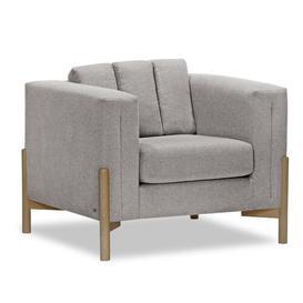 image-Sydni Armchair Corrigan Studio Upholstery: Hamilton Grey