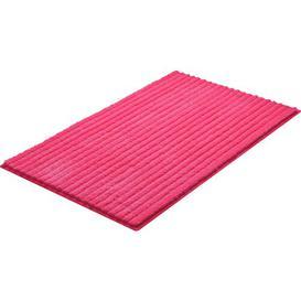 image-Rimmer Bath Mat Mercury Row Size: 70 x 120cm, Colour: Pink