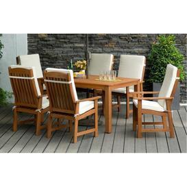 image-Parsons - Garden Dining Set - 6 Seats