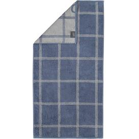 image-Two-Tone Bath Towel Caw├╢ Colour: Midnight Blue