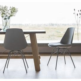 image-Gallery Finchley Grey Dining Chair (Set of 4)
