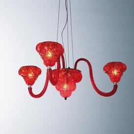 image-6-Light Shade Chandelier Siru