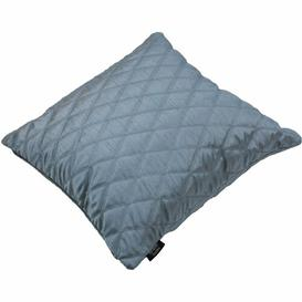 image-Bloxom Diamond Quilted Cushion Cover Ebern Designs Colour: Wedgewood Blue, Size: 60 x 60cm