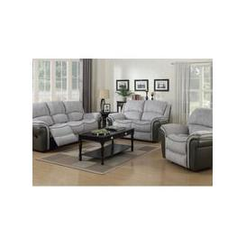 image-Lerna Fusion 3 Seater Sofa And 2 Seater Sofa Suite In Grey