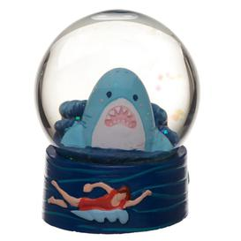 image-Collectable Shark Cafe Snow Globe Waterball