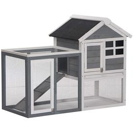 image-Fremont Small Animal Hutch with Ramp