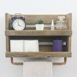image-Kirkham Wall Shelf Union Rustic