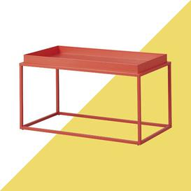 image-Zeus Coffee Table Hashtag Home Colour: Juicy orange/red