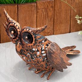 image-Laremont Solar Owl Light