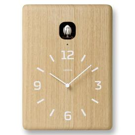 image-Dugger Cuckoo Wall Clock Union Rustic Colour: Natural