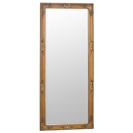 image-Florence Leaner Gold Frame Mirror 75 x 165