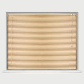 image-Long Drop Sheer Venetian blind Ebern Designs Finish: Natural, Size: 150 cm L x 60 cm W