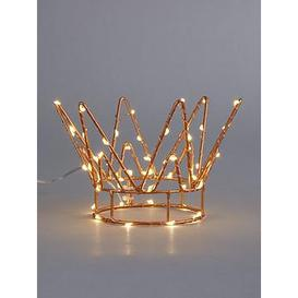 image-Crown Light-Up Christmas Tree Topper