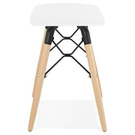 image-Ariel Dressing Table Stool Norden Home Colour (Seat): White