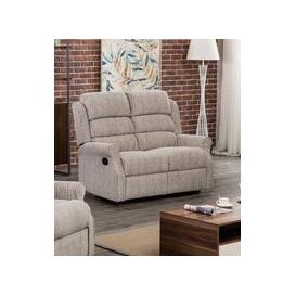 image-Windsor Latte Fabric 2 Seater Recliner Sofa