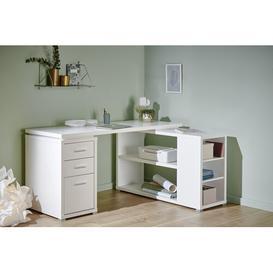 image-CLB 355 Writing Desk Jahnke Colour: White