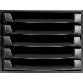 image-Mcintosh Desk Organiser Symple Stuff Colour: Black