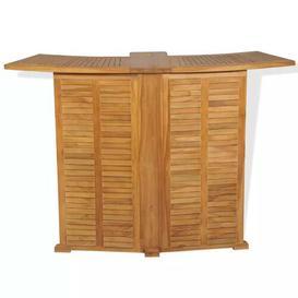 image-De Luca Folding Teak Bar Table Sol 72 Outdoor