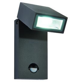 image-Morti PIR Sensor 8m Range Premium Exterior Wall Light, 10W LED, IP44 Rated. Anthracite. 620LM.