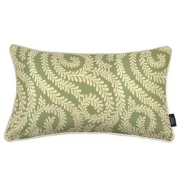 image-Little Leaf Sage Green Cushion, Cover Only / 60cm x 40cm