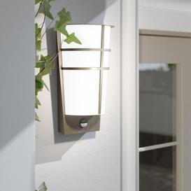 image-Aliza LED Outdoor Flush Mount with Motion Sensor Zipcode Design Fixture Finish: Anthracite