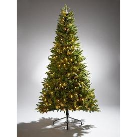 image-7Ft Grizedale Pre-Lit Christmas Tree With Mixed Tips And Memory Wire