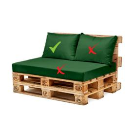 image-Sofa Cushion Sol 72 Outdoor Colour: Green
