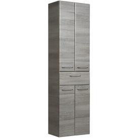 image-Peete 50 x 185.5cm Tall Bathroom Cabinet Brayden Studio Colour: Anthracite