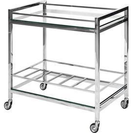 image-Rosado Serving Cart Canora Grey Frame Colour: Chrome