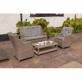 image-Swindon 4 Seater Rattan Sofa Set Dakota Fields