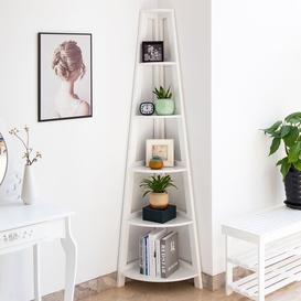 image-Miele Corner Bookcase Mercury Row