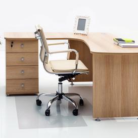 image-Cleartex Advantagemat Lip Chair Mat for Hard Floor Floortex