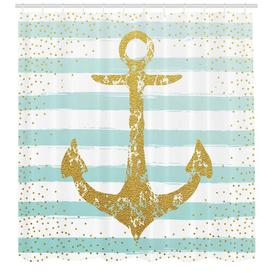 image-Anchor Shower Curtain East Urban Home Size: 240cm H x 175cm W