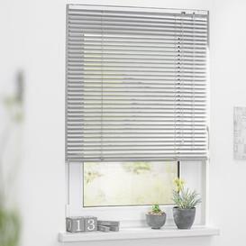 image-Sheer Venetian Blind Symple Stuff Size: 50cm W x 160cm H, Colour: Silver