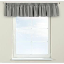 image-Loneta Curtain Pelmet Dekoria Size: 260cm W x 40cm L, Colour: Grey