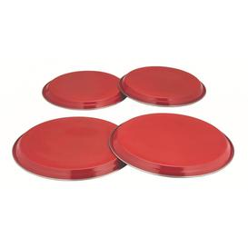 image-Zodiac Colours Hob Cover Pack 4 Red