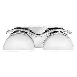 image-HK/VERVE2 BATH Verve 2 Light Bathroom Wall Light In Polished Chrome