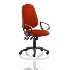 image-Mid-Back Desk Chair Symple Stuff Colour: Coral