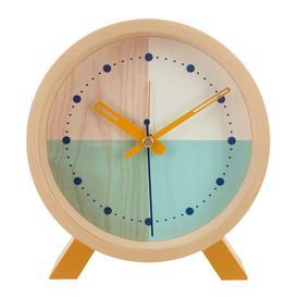 image-Cloudnola - Flor Desk Clock - Turquoise